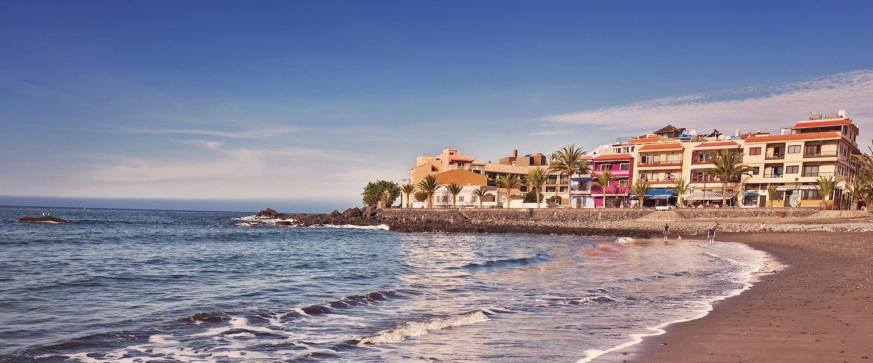Op het strand van Valle Gran Rey