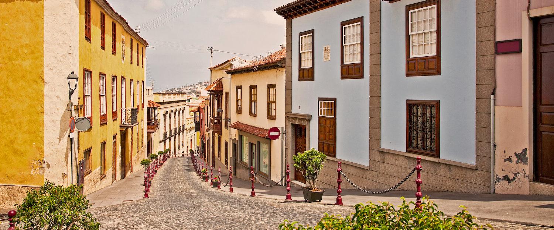 Calle Carrera, en el casco antiguo de La Orotava