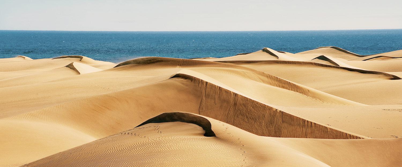 Las dunas en Gran Canaria Sur