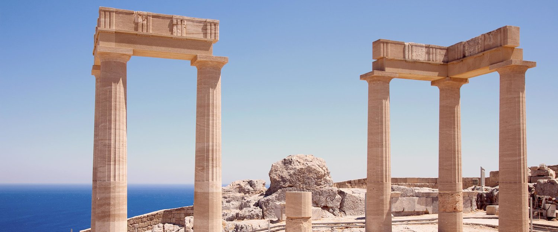 Ruinen der antiken Tempel