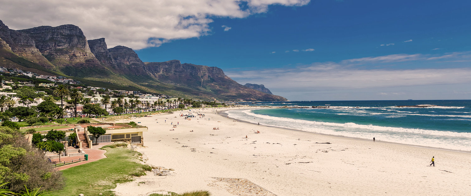 On the beach of Cape Town