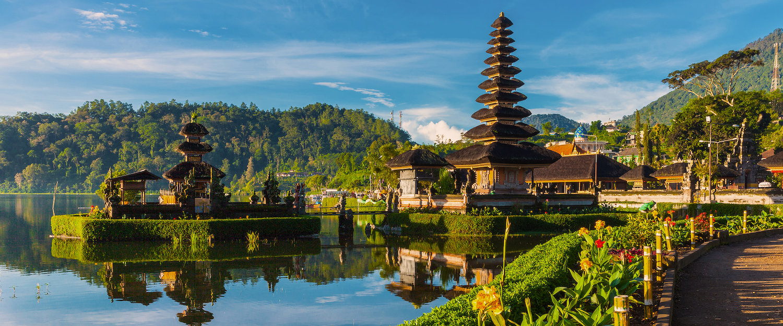 Pura Ulun Danu Bratan Temple on Bali