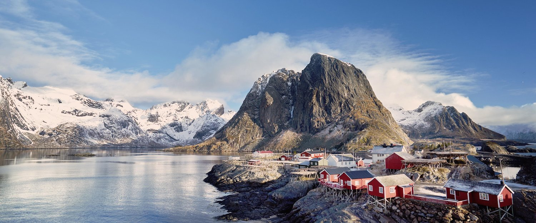 Angelhütten auf den Lofoten-Inseln