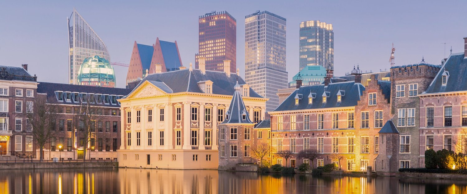 The skyline of The Hague