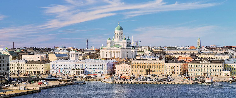 Stadtansicht von Helsinki