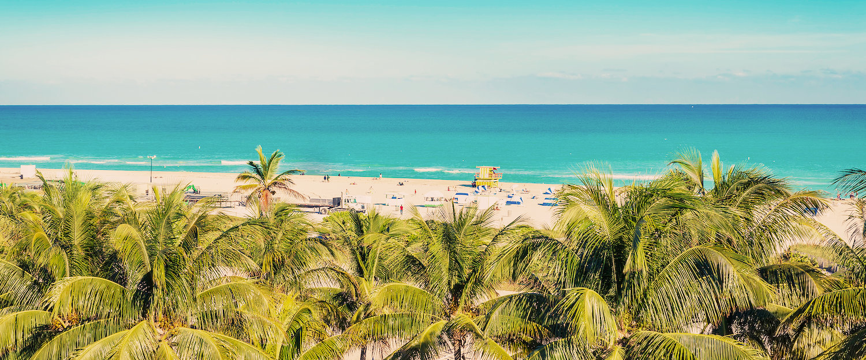 Playa en Miami