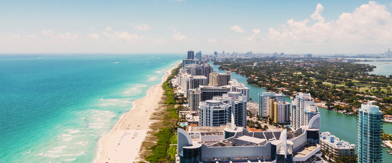 Vista panorámica de Miami