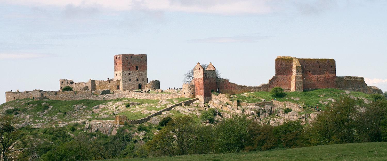 Hammershus medeltida borgruin