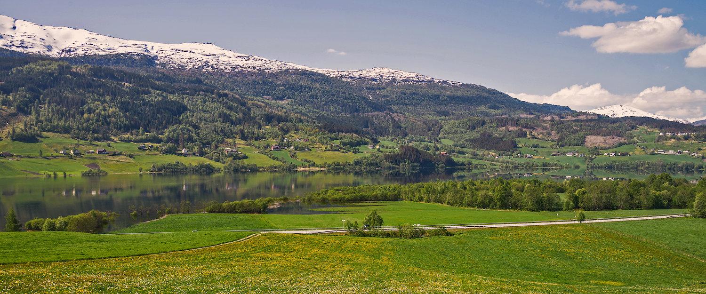 Landskapet i Vossedalen