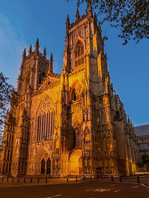 The sacred York Minster