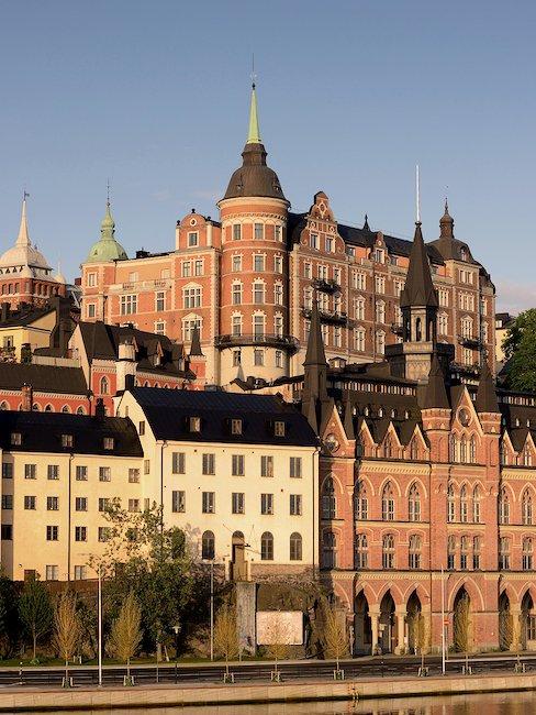 Mälarstrand på Södermalm i Stockholm