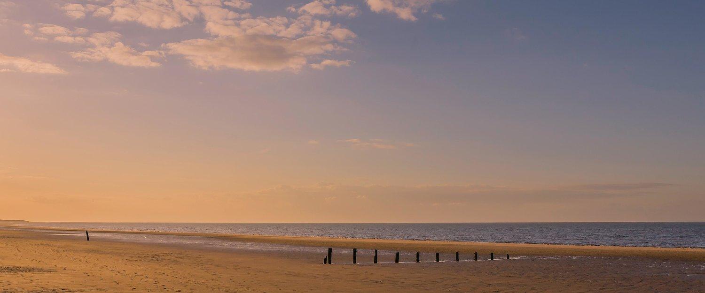 Brancaster Beach at dusk