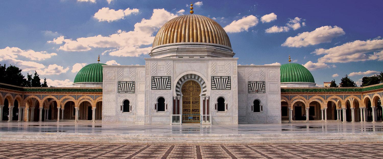 Mausoleum in Monastir in Tunisia
