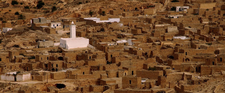 Toujane, wioska górska w Tunezji