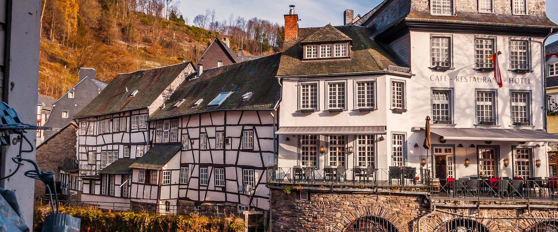 Typische Häuser Monschau