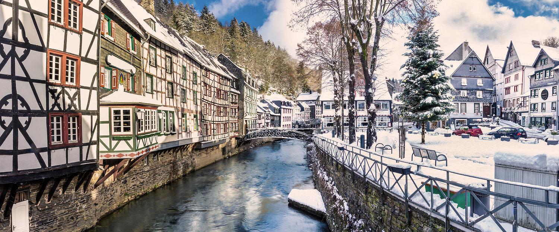 Monschau und Eifel im Winter