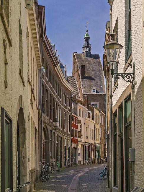 Straatje in Limburg