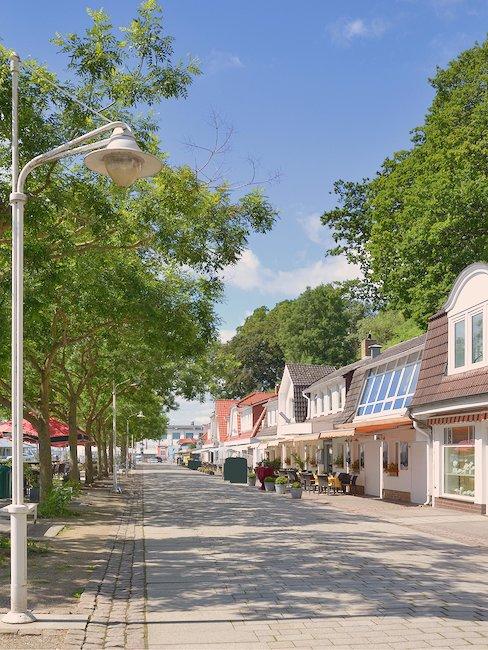 Die Promenade von Sassnitz
