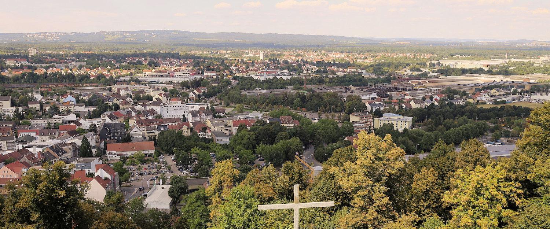 Ausblick über Zweibrücken