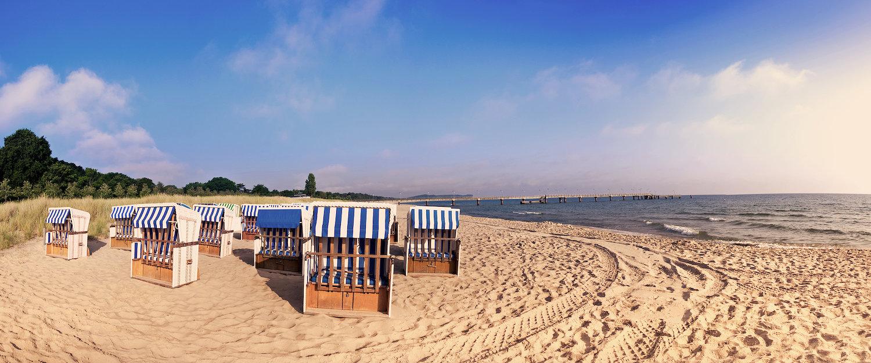 Entpannung pur in Strandkörben von Lietzow
