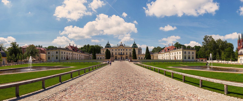 Pałac Branickich na Podlasiu