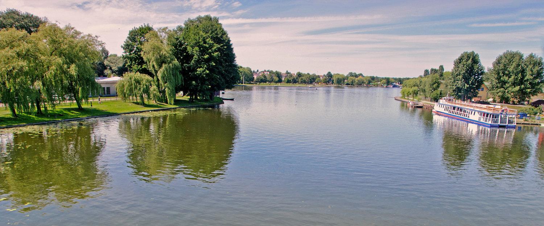 Widok na Kanał Augustowski