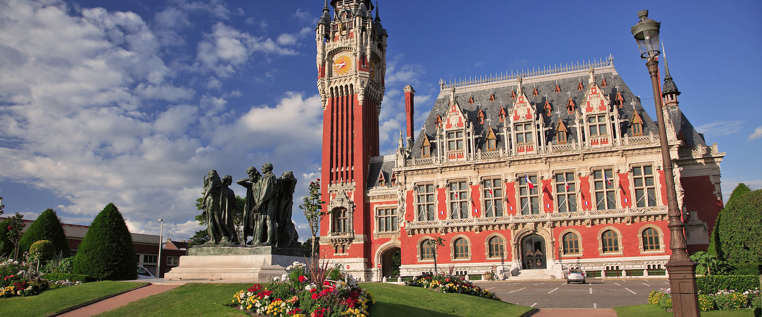 The town hall in Calais