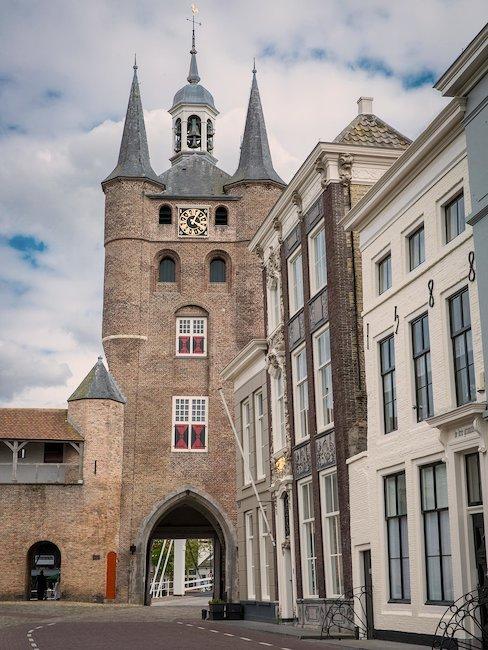 Altes Stadttor in Zieriksee