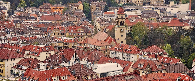 Ausblick über die historische Altstadt