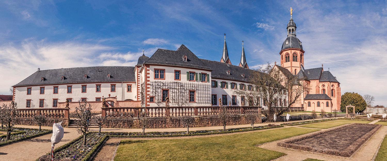 Das berühmte Benediktinerkloster in Seligenstadt