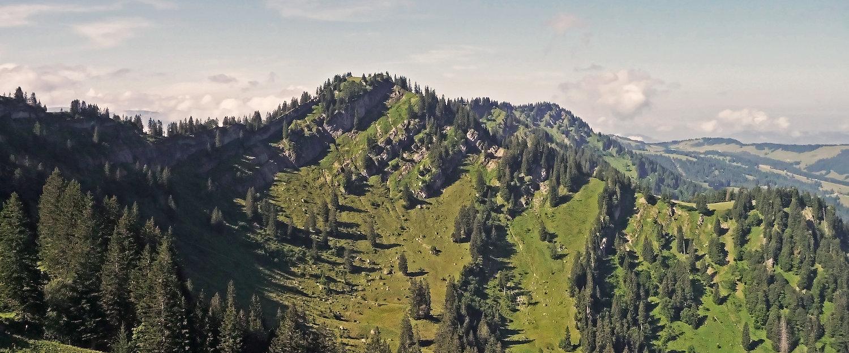Berglandschaft um Wertach