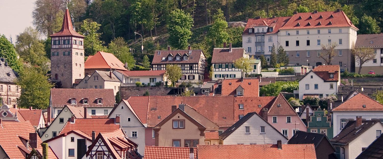 In der Nähe von Kulmbach: die Universitätsstadt Bayreuth