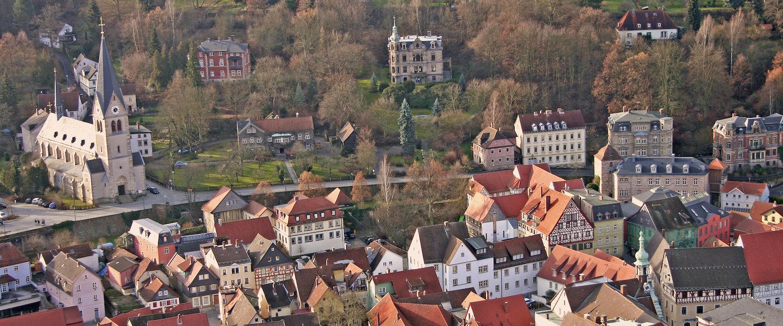 Ausblick über Kulmbach