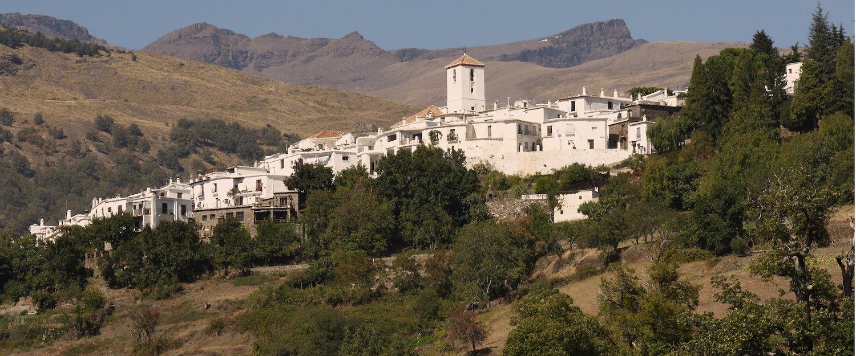 Vista del pueblo de Capileira