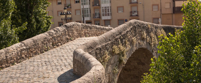 Puente medieval en Aranda del Duero