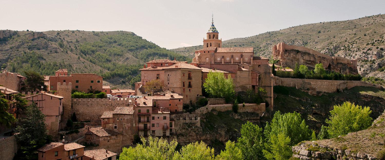 Vista de Albarracín, Conjunto Histórico Artístico