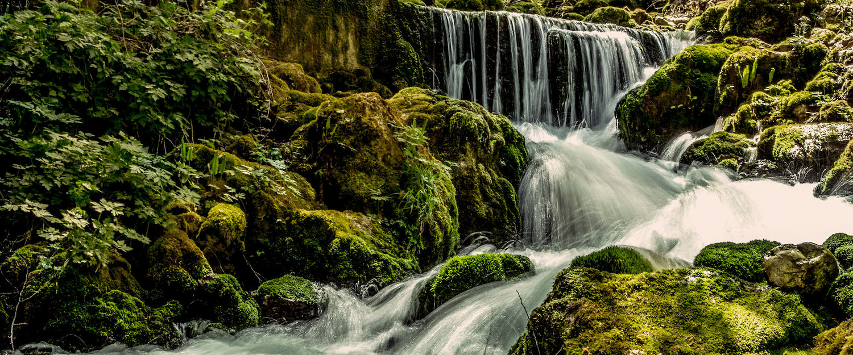 Watervallen in Mellau