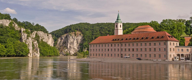 Das berühmte Kloster Weltenburg