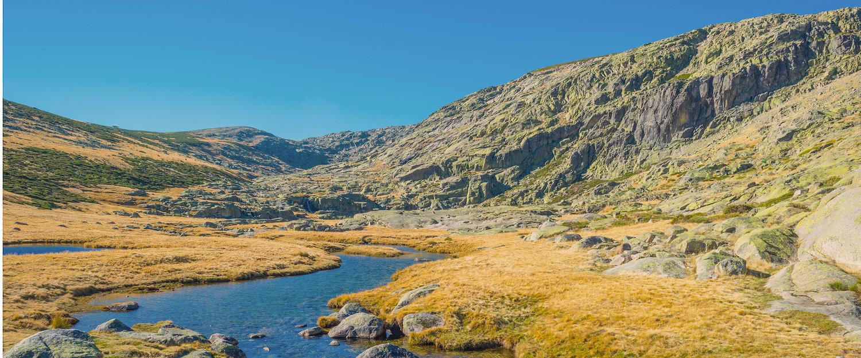 Rio en el Parque Natural Sierra de Gredos