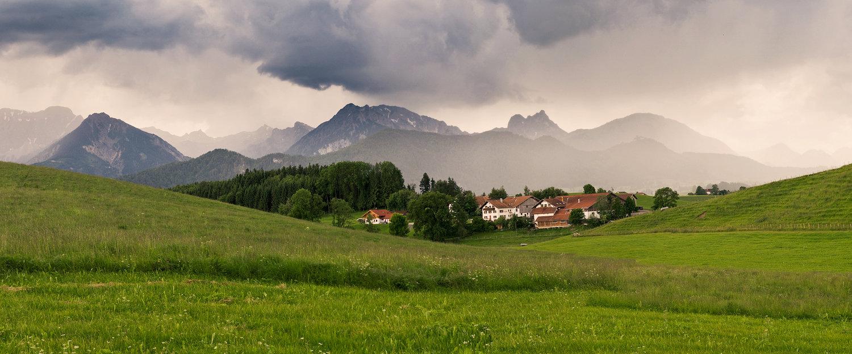 Traumhafte Landschaft in Bad Wörishofen