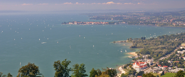 Ausblick über den Bodensee