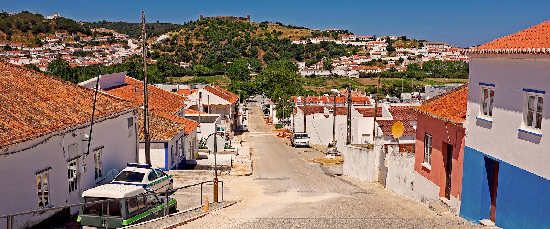 Vista da Cidade de Aljezur