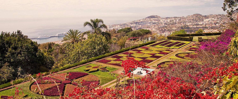 Botanische tuin in Funchal