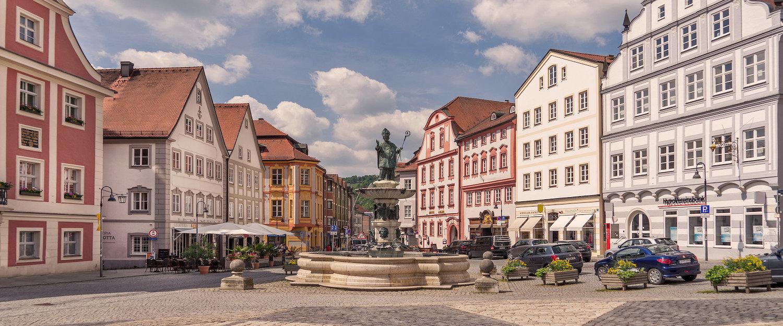 Schöne Altstadt von Eichstätt