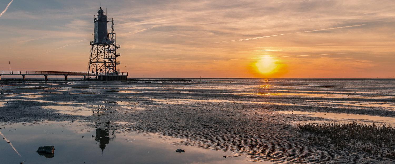 Leuchtturm Obereversand bei Cuxhaven
