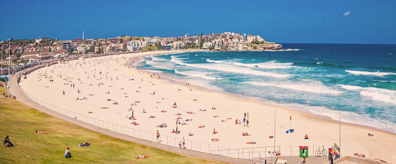 Słynna Bondi Beach niedaleko Sydney.