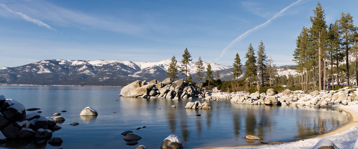Winter at Lake Tahoe