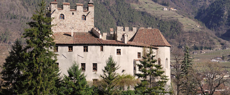 Forst Schloss nahe Algundo in Südtirol