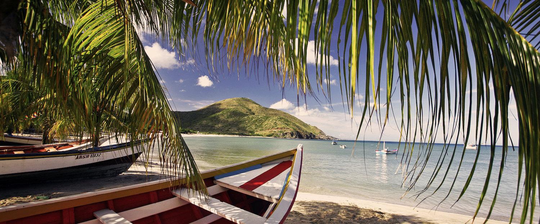 Hermosa playa de Venezuela