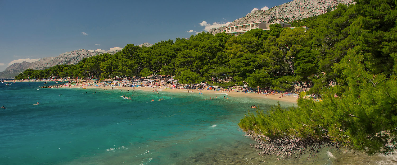 Makarska Riviera bei Brela in Kroatien